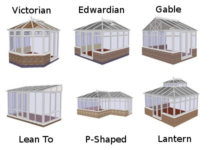We support various conservatory styles